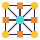 Networking Node Connecting Icon