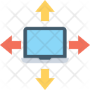Networking Client Server Icon