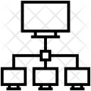 Computer Sharing Server Icon
