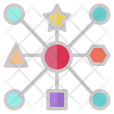 Networking Connect Geometry Icon