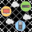 Networking Diagram Database Icon