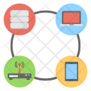 Networking Diagram Icon