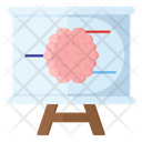 Neural Diagram Presentation Biology Lecture Science Lesson Icon