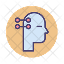 Neural Interface Brain Interface Mind Machine Icon