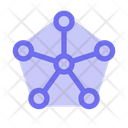 Neural Network Artificial Intelligence Technology Icon