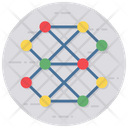 Artificial Network Neural Network Backpropagation Icon