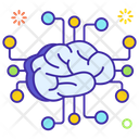 Neural Network Artificial Intelligence Deep Learning Icon