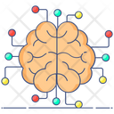 Neural Network Artificial Brain Artificial Intelligence Icon
