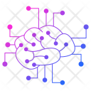 Neural Network Cyber Icon