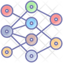 Neural Networks Artificial Intelligence Icon