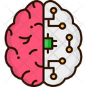Neurohacking Human Brain Ai Brain Icon