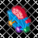Neuromarketing Brain Business Icon