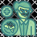Neurosurgeon Brain Profession Icon