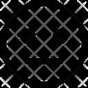 Neutral Emoji Expression Icon
