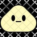 Neutral Emoji Emoticon Icon