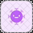 Neutral Coronavirus Emoji Coronavirus Icon