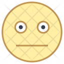 Neutral face Icon