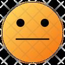 Neutral Face Emoji Face Icon