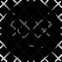 Neutral Face Emoji Emoticon Icon