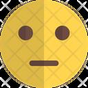 Neutral Face Icon
