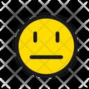Neutral Face Neutral Face Icon