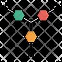 Neutron Chemistry Hydrogen Molecule Icon