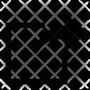 New Arrow Tab Icon