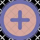 New Plus Round Icon