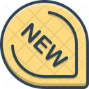 New Product Label Icon