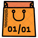 New Year End Icon