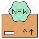 New Parcel Delivery Icon