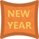 New Year Sticker Icon