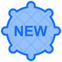 New Badge Sticker Icon