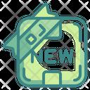 New Shapes Symbols Icon