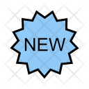 New Sticker Badge Icon