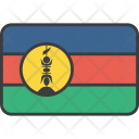 New Caledonia Caledonian Icon