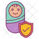 New Baby Protection Safety Icon