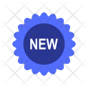 New Badge Label Icon