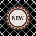 New Badge Label Icon