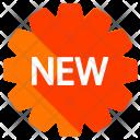 New Sticker Badge Icon