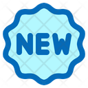 New Badge New Tag New Brand Badge Icon