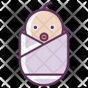 New Born Baby Icon