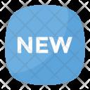 New Button Emoji Icon