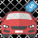 New Car Car Price Icon