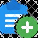 New Clipboard Add Clipboard Add File Icon