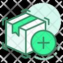 Add Box Shipping Icon