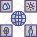 New Environment Earth Ecological Icon