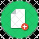 Add New Create New New File Icon