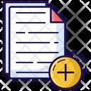 New File Create File New Document Icon