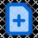 New File Add File Document Icon